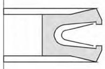 Face seal,static inside sealing-Type VC